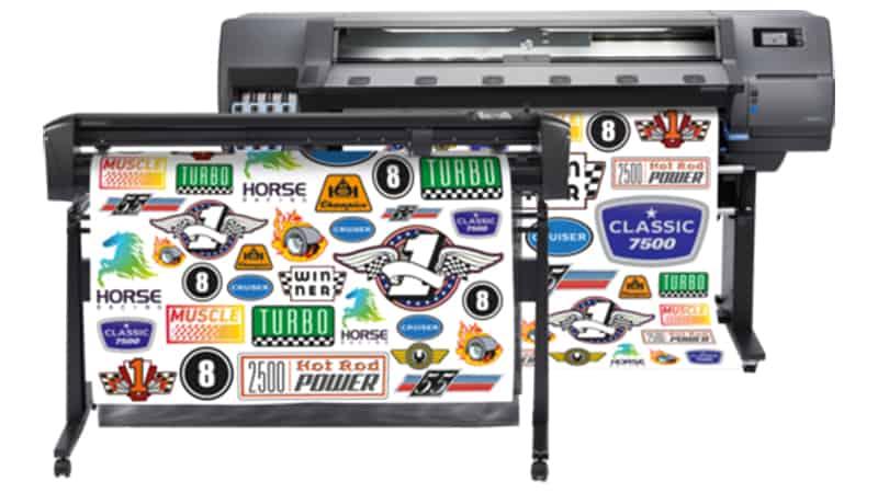 HP Latex 335 Print and Cut