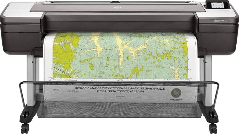 HP DesignJet T1700 Series
