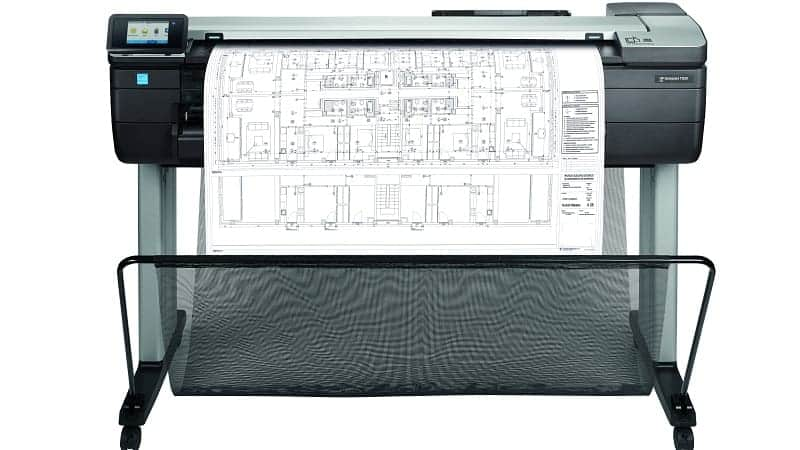 HP DesignJet T830 Printer Series