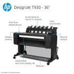 hp designjet t930 printer series