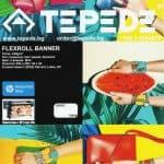 Flexroll banner е гъвкав, матов, бял винил за външна и вътрешна употреба