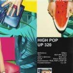 HIGH POP UP 320 е изключително твърд, многослоен PP и PET бял, матов филм