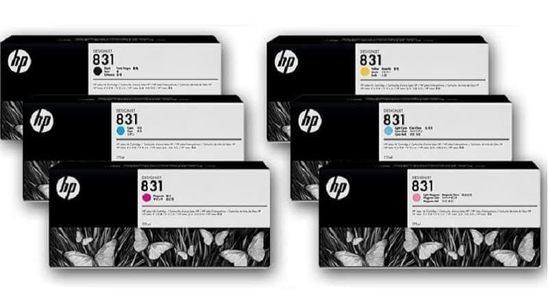HP 831A 775-ml Latex Ink Cartridges
