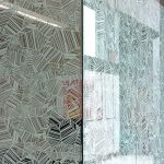 polymeric etched glass film
