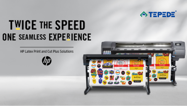HP print and cut solution